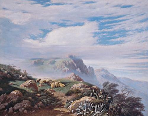 Francesco Lojacono: Paesaggio madonita